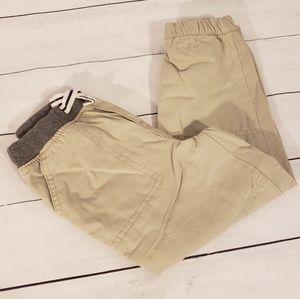 Oshkosh   Khaki elastic bottom pants